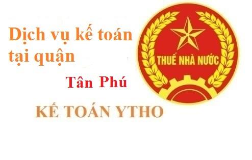 Dịch vụ kế toán Tân Phú