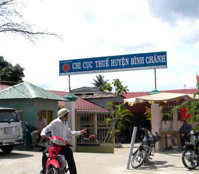 Dịch vụ kế toán ở huyện Bình Chánh TPHCM