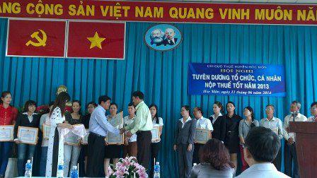 Dịch vụ kế toán tại huyện Hóc Môn