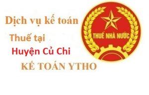 Dịch vụ kế toán thuế tại huyện Củ Chi
