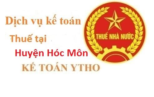 Dịch vụ kế toán thuế tại huyện Hóc Môn