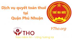 Dịch vụ quyết toán thuế tại quận Phú Nhuận