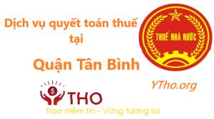 Dịch vụ quyết toán thuế tại quận Tân Bình