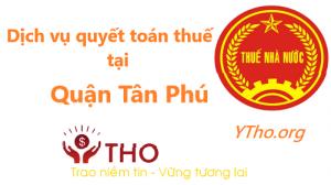 Dịch vụ quyết toán thuế tại quận Tân Phú