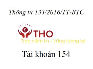 Tài khoản 154