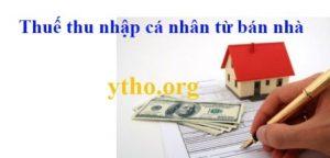 Tính thuế thu nhập cá nhân từ bán nhà