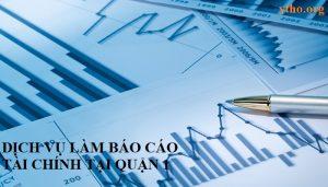 Dịch vụ báo cáo tài chính tại quận 1