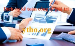 Dịch vụ kế toán công ty giải trí