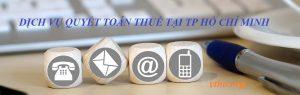 DỊCH vụ quyết toán thuế ở Sài gòn